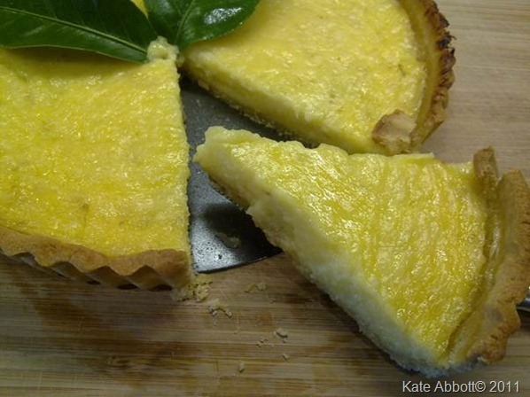 Lime tart 2011 blog kate abbott